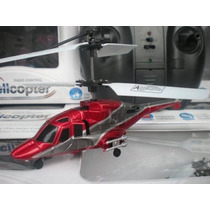 Radio Control Helicoptero 3 Channel Y Luces Teamway