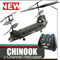 Impresionante Helicóptero Chinook Tandem 6 Centimetros.
