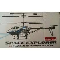 Helicóptero Rc 3.5 Canales Carga Usb