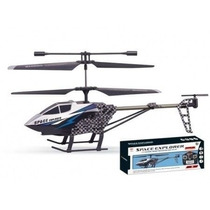 Helicoptero Radio Control Space Explorer Metalico - Flexible