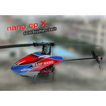 Helicoptero Skyartec Wasp100 Nano Cpx Flybarless Brushless3d