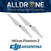 Helices De Repuesto Original Dji Phantom 2 Cuadricoptero