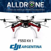 Cuadricoptero Dji Profesional F550 Gps Hd Camara Kit 1