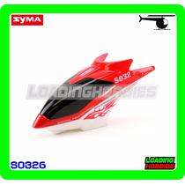 Canopy / Cabina Para Helicoptero Syma S032g S032g-01