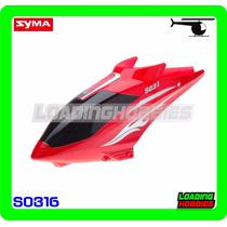 Canopy / Cabina Para Helicoptero Syma S031g S031g-01