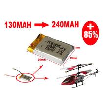 Bateria 3.7v Lipo 240mah Helicopteros A Rc - Mas Autonomia