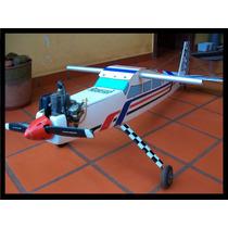 Avion Radio Control Profesionas Motor Zenoah 23cc