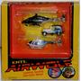 Airwolf Set X3 Colección Helicóptero Lobo Del Aire 1984 Ertl