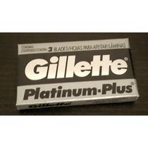 Hojas De Afeitar Gillette Platinum Plus Oferta Unica