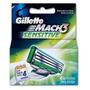 Gillette Mach3 Sensitive Repuesto De Afeitar 4 Cartuchos
