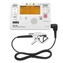 Korg Tm-50c Afinador Cromatico Metronomo Microfono Contacto