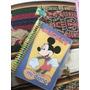 Mi Diario Mickey Con Candado + Lapiz