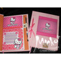 Diario Intimo Hello Kitty, Mickey, Libro Anotador C/lap