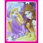 Carpeta Nº3 Princesas Rapunzel Bella Y Brillosa Lic.oficial
