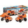 Duravit Set De Carga O Set Constructor Camiones Medianos X2