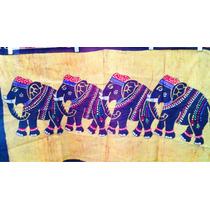 Tela India Elefantes
