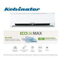 Aire Acondicionado Kelvinator Ecolifemax 3300w Frio Gas R410