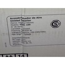 Aire Split Firo Calor Geneal Electrc 2300 Fro Calor