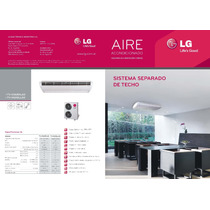 Aire Ac.split De Techo Lg 15.000 Frg F/calor Trif. Gas Eco