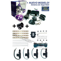Combo Alarma X28 Z10 Volumetrica +sirena + Cierres Para Auto