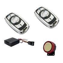 Alarma Para Moto B52 Libra 2 Ctrls Metal Sirena Sensor Golpe