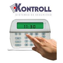 Teclado Alarma, Dsc Rfk 5501-433sp, Con Receptor Inalambrico