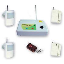 Alarma Inalambrica 4 Sensores Movimiento Y Apertura C Remoto