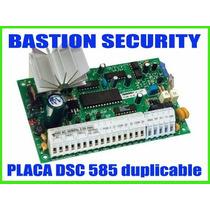 Placa De Alarma Dsc 585- Central De Alarma Domiciliaria Dsc