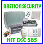 Alarma Domiciliaria Dsc 585- Kit Dsc 8 Zonas Con Bateria