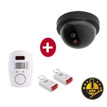 Sensor Movimiento C/ Alarma + Camara De Seg Domo 1 Año Gtia