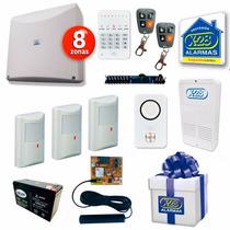 Alarma Completa X28 Inalambrica Discador Gsm Celular Sms
