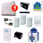 Oferta Kit Alarma X28 Cableada Completa Con Controles Remoto
