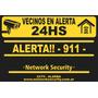 Alarma Vecinal Full C/monitor Led10w -instalación Bonificada