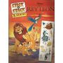 Album De Stick / El Rey Leon / Disney / Panini /