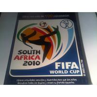 Album Mundial Sudafrica 2010 Con Mas De 500 Calcos A Pegar
