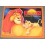 Album De Figuritas Rey Leon Completo Disney Cromy Arg. 1994