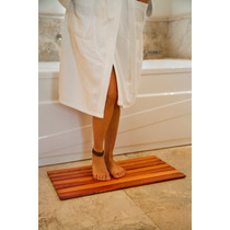 Alfombra De Madera Para Baños Y Entradas Tipo Deck Flexible