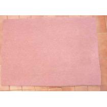 Alfombra Medidas 1.50 X 1.00 Mts. Color Rosa De Pelo Cortado