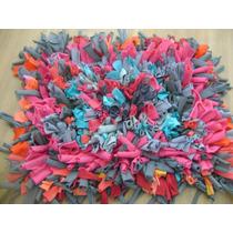 Alfombra Totora Colores Vibrantes