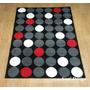 Carpeta Alfombra Modern Black 120x170cm, Linea Fundasoul