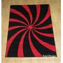Carpeta Alfombra Modern Black 120x170cm Linea Fundasoul
