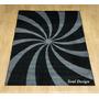 Carpeta Alfombra Modern Black 160 X 225cm, Linea Fundasoul