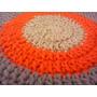 Alfombras Redondas Tejidas En Crochet 1.50 X 1.50