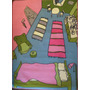 Carpeta Infantil Room 1,00 X 1,33 Mts Antideslizante