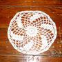 Carpeta Artesanal Tejida Al Crochet