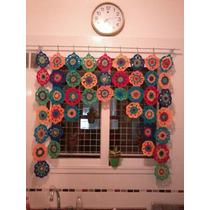 Cortina Tejida A Crochet