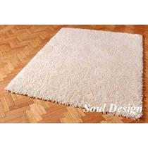 Carpeta Alfombra Karavell Extra Shaggy 150 X 200cm Fundasoul