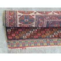 Alfombra Qashqai Persa Seda Irani Coleccion Antigua #20212