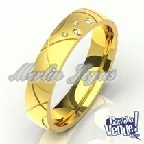 Par De Alianzas De Oro 18k - 5 Gramos - Precio Especial!!!