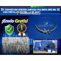 Swarovski Edicion Limitada Pulsera Oro 18k Estrella De Mar